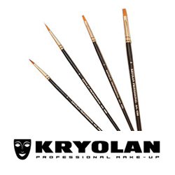 Kryolan Face Painting Brushes