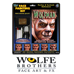 Wolfe Face Painting Kits