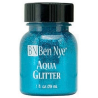 Ben Nye Aqua Glitter - Blue AG-4 (1 oz)