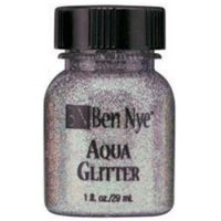 Ben Nye Aqua Glitter - Galactic Violet AG-11 (1 oz)