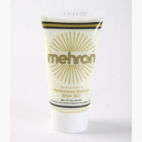 Mehron Fantasy FX Liquid Face Paints - White W (1 oz)