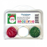 Snazaroo Christmas Face Painting Kits (3 Colors)