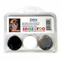 Snazaroo Zebra Face Painting Kits (3 Colors)