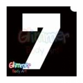 Glimmer Body Art Glitter Tattoo Stencils - Number 7 (10/pack)