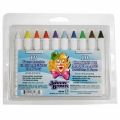 Johnny Brown Face Paint Crayons (10/box)