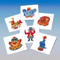 Kids Temporary Tattoos - Circus (144/Pack)