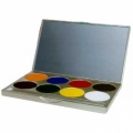Paradise Basic Face Paint Palettes (8 Colors)