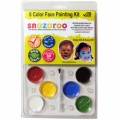 Snazaroo Starter Face Painting Kits (6 Colors)