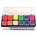 Wolfe Neon/Metallix Face Paint Palettes (12/colors)
